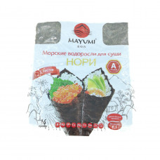Морские водоросли Нори Maymi для суши, 14г