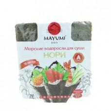 Морские водоросли Нори Maymi для суши, 28г