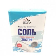 Соль Asyl Экстра йодированная, 900г