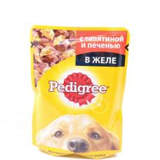 Корм для собак Pedigree с телятиной и печенью 100гр пауч