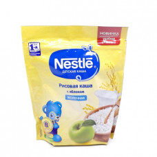 Каша Nestle рисовая каша с яблоком молочная, 220г