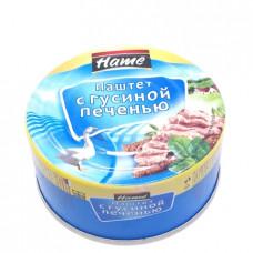 Паштет Hame с гусиной печенью 117гр ж/б