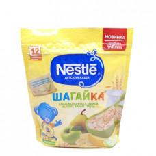 Каша Nestle Шагайка молочная 5 злаков яблоко,банан, груша 200гр