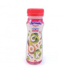 Йогурт питьевой Растишка Яблоко-груша 1,2%, 150г