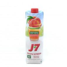 Сок J-7 персик/яблоко 0,97л