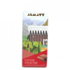 Шоколад Almaty Рахат пористый темный 90гр
