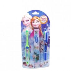 Зубная щетка  Детская Kitti ручка+линенйка