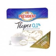 Творог President домашний 0,1 % 200 гр