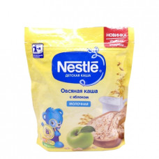 Каша Nestle молочная Овсяная с яблоком, 220гр