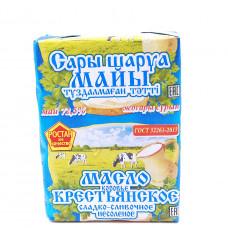 Масло Ростан Крестьянское сладко-сливочное несоленое 72,5%, 200г