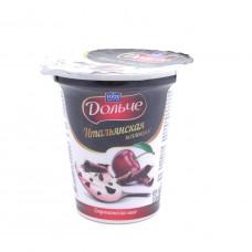 Десерт творожный Food Master Дольче Страчателла-вишня 3,6%, 120 гр