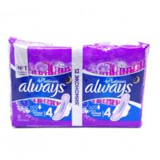 Прокладки Allways ночные 12 шт