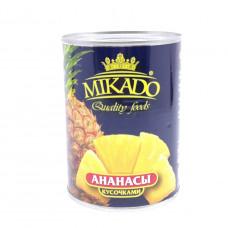Ананасы Micado кусочки 580мл