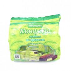 Конфеты Петродиет желейно-фруктовые на фруктозе, 200 гр.