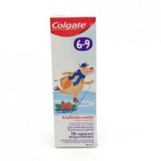 Зубная паста Colgate Детская Клубника Мята 6-9лет 60мл
