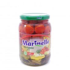 Ассорти (огурцы, томаты, патиссоны) Marinelle 720 мл ст/б