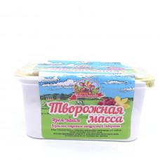 Масса творожная Продукт Масленково Изюм Ваниль 20%, 450 гр