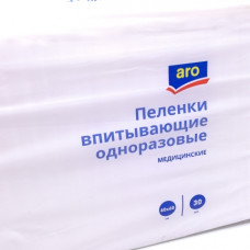Пеленки Aro одноразовые мед 60*60 см 30 шт
