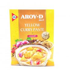 Паста карри желтая AROY-D 50гр
