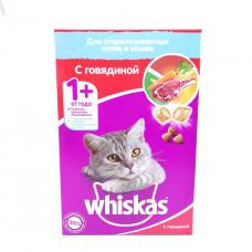Корм Вискас Для стерилизованных Кошек с Говядиной 350гр