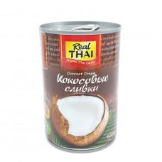 Сливки кокосовые Real Thai  400мл