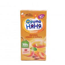 Компот Фруто Няня яблоко-изюм-курага 0,2л