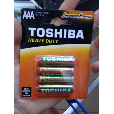 Батарейка Toshiba Heavy Duty AAA 4 миз