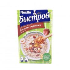 Каша Быстров ассорти 5 злаков с медом орехами и изюмом Без варки 240 гр (40 г*6 шт)
