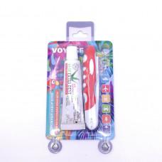 Набор дорожный зубная щетка+зубная паста30гр