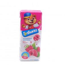 Коктейль молочный Топтыжка Малина 3,2% 200мл