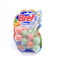 Блок для туалета Bref персик/яблоко 2*50гр