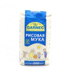 Мука Гарнец цельнозерновая рисовая без глютена, 500 гр