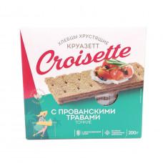 Хлебцы Croisette ржано-пшеничные прованские травы, 200 г