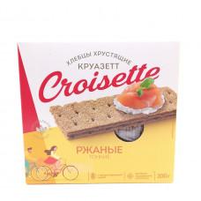 Хлебцы Croisette тонкие ржаные, 200 г
