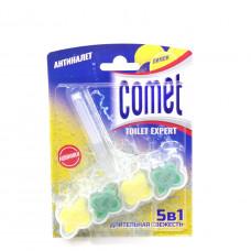 Блок для унитаза Comet Лимон 5 в 1, 48 г