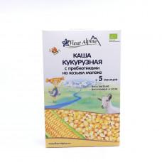 Каша Fleur Alpine кукурузная на козьем молоке 5+, 200 гр