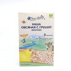 Каша Fleur Alpine овсяная молочная с грушей 5+, 200 гр