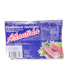 Палочки крабовые Atlantida, 190 гр