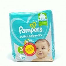 Pampers Подгузники Active Baby Dry Midi 22