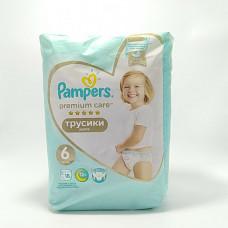 Pampers Трусики PremCare Pants ExstraLarge 18