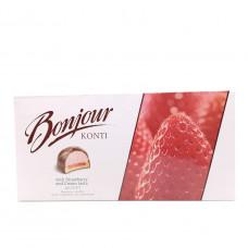 Десерт Bonjour клубника со сливками, 232г