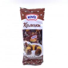 Кекс колечки Kovis с шоколадно-ореховым кремом, 240 гр