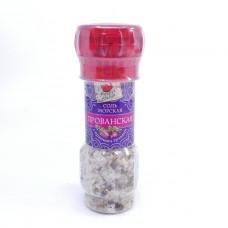 Соль морская Вокруг света с пряными травами 80г