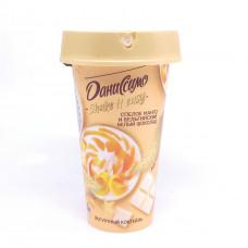 Йогуртный коктейль Danone Даниссимо Манго и бельгийский шоколад 2,7% 190 гр