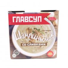Суп-пюре Глапвсуп из шампиньонов со сливками 250гр