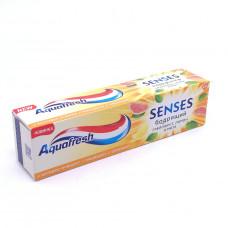 Зубная паста Aquafresh Senses Бодрящий грейпфрут 75мл