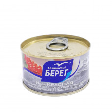 Икра Балтийский Берег красная имитированная, 120 гр ж/б