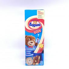 Бисквит Барни DUO с вкусом клубники и ванили, 150г
