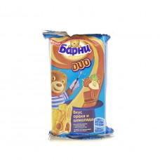 Кекс Барни Медвежонок орех и шоколад, 30г