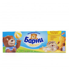 Кекс Барни Медвежонок Банан-йогурт, 150г
